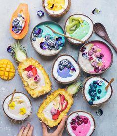 So nice you do not want to eat it .- So schön, dass du es nicht essen willst # … So nice that you do not want to eat it # … - Healthy Smoothies, Healthy Drinks, Smoothie Recipes, Healthy Snacks, Healthy Fruits, Drink Recipes, Cute Food, Yummy Food, Tasty