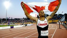Quick takes with Canada's fastest man Andre De Grasse With just 50 days to the Rio Olympics Canada's sprint star weighs in on a year of big changes Usain Bolt, Fastest Man, Rio Olympics 2016, Rio 2016, Triathlon, British Columbia, Sports News, 6 Months, Zika Virus
