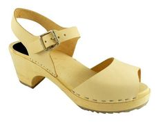 Lotta From Stockholm Torpatoffeln Swedish Clogs : Open Toe High Heel Clogs In Natural Leather - 9 Lotta From Stockholm,http://www.amazon.com/dp/B004V0XTGM/ref=cm_sw_r_pi_dp_F6Hqrb18CN27A2XC