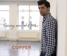 #spring2016 #newarrivals #shirts #casual #edwardcopper
