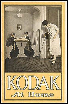 """Pocket Catalog, no date. From 1907 through the early 1930s Kodak periodically issued 3 1/2 x 5 1/2"""" 32-page pocket catalogs."""