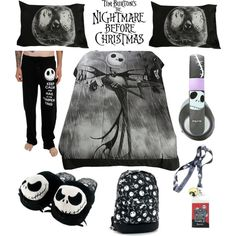 The Nightmare Before Christmas Bedroom