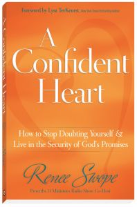 A Confident Heart daily devotional for women and young ladies that need enCOURAGEment. Join us!  http://reneeswope.com/aconfidentheart/