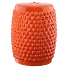 Equally at home as extra guest seating on the patio or displaying a vase of bright blooms in your sunroom, this eye-catching garden stool features a classic ...