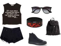 Vans Warped Tour Outfit Idea