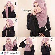 40 modern hijab and tutorials that will inspire you! - Hijab tips 40 mod. 40 modern hijab and tutorials that will inspire you! – Hijab tips 40 mod… 40 modern hi Hijab Chic, Cara Hijab, Beau Hijab, Stylish Hijab, Modern Hijab, Casual Hijab Outfit, Simple Hijab Tutorial, Hijab Style Tutorial, Iranian Women Fashion