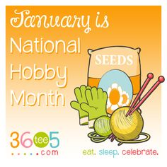 January is National Hobby Month! Wacky Holidays, Love Holidays, Special Day Calendar, January Month, Awareness Campaign, How To Know, Breakup, Rock And Roll, Celebrities