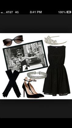 Audrey Hepburn DIY cute