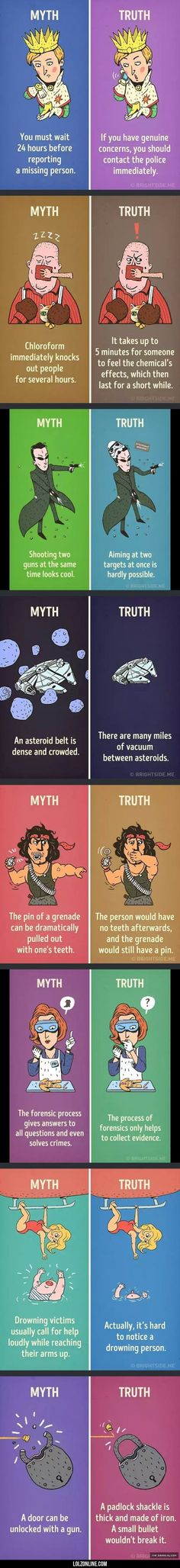 Myths You Believed Were True But Actually Werent
