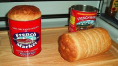 baking bread in a coffee can...now you don't have to cut off the crusts!