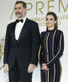 King Filipe & Queen Letizia of Spain, 2016.