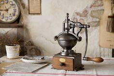 vintage peugeot coffee grinder