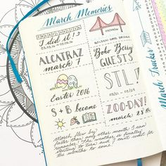 I just love welcoming a new month with a bit of reflection in my #BulletJournal!  I had a bit of empty space at the bottom of my monthly memories spread this month so I decided a bit of journaling was in order.  What great memories did YOU make in March? Are you as excited for April as I am?