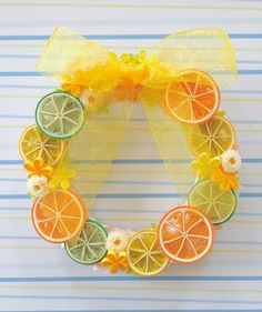 Fruit Wreath - Quilled by: Y's colors