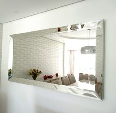 Home Decor Kitchen, Home Decor Bedroom, Living Room Decor, Mirrored Bedroom Furniture, Furniture Decor, Modern Kitchen Design, Modern House Design, Glamour Decor, Dining Room Inspiration
