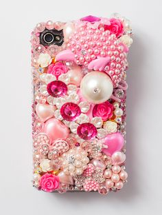 beaded phone cover