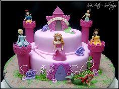 Decorated Cake - Princesses