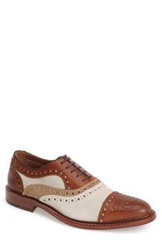 J&M+1850+'McGavock'+Cap+Toe+Oxford+(Men)+available+at+#Nordstrom