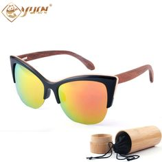 Are you excited?  New Fashion Wood ... :-) http://www.sustainthefuture.us/products/new-fashion-wood-polarized-sunglasses-women-brand-designer-reflective-revo-mirror-sun-glasses-handmade-bamboo-wooden-glasses?utm_campaign=social_autopilot&utm_source=pin&utm_medium=pin