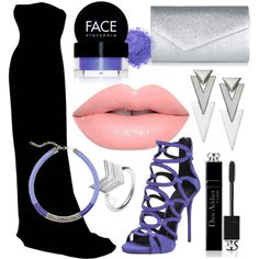 Avengers Formal - Hawkeye by briana-mason94 on Polyvore featuring Giuseppe Zanotti, Accessorize, LucyQ Designs, GUESS, Christian Dior, FACE Stockholm and Lime Crime #avengers #formal #hawkeye #marvel #prom #polyvore