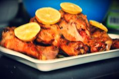 Mouthwatering!!!   Garlic And Honey Baked Drumsticks Try this super quick and easy recipe using chicken drumsticks.