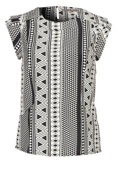 Aztec top van Mint & Berry  @ Zalando ♥ Black & White