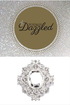 Available at totallydazzled.com for just $2.60! Add some bling to your special event by visiting us online and checking out our wide selection of rhinestone products! Napkin rings, buckles, clasps, buttons, flat backs and more! #totallydazzled #bling #wedding