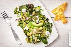 Kesäkurpitsa-salaatti, © avaruusasema