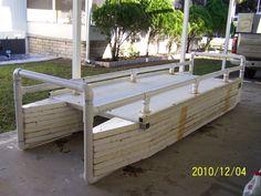 Homebuilt pontoon boat / double-hull kayak