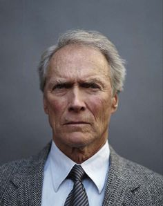 Clint Eastwood makes me think of my grandfather who is the sweetest, most kind man I'll probably ever know... but he absolutely has some secret badass in him.
