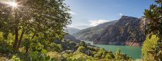 View from La Solanilla, Guejar Sierra  Foto by Lynn Hardies
