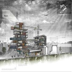 Year 5/Final Project: 'iNTELLIGENT CITY' #architecture