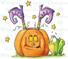 Witch Detour - Halloween Images - Halloween - Rubber Stamps - Shop