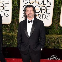 Ron D Moore of Outlander on Starz at the 2016 Golden Globes
