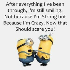 If you're not crazy; change it!  #minionstyle #quadstyle