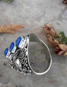 Fire Opal Gemstone 925 Sterling Silver Ring    by CedarCreekCanada