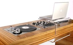 Dj Setup hoerboard gallery - dj furniture and dj stands