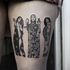 Klimt's inspired