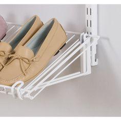 Rubbermaid Fasttrack White Shoe Bracket