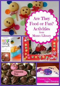Life with Moore Babies: Food or Fun? at Mom's Library