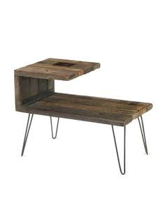 LOVE this. Thinking of doing a DIY replica Aldo End Table by Four Hands at Gilt