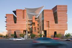 Copper Phoenix: CO Architects' New Building at the University of Arizona