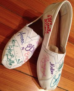Wearable Character Autograph Project: Sign My Shoes