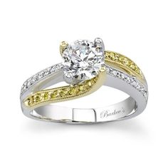 two toned engagement rings - Google Search beautiful setting.