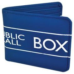 looking for a good Doctor Who Police Box wallet, this isnt the one i have in mind, but i like it.