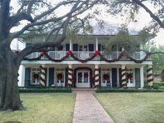 Private residence, Highland Park, TX  - Christmas time