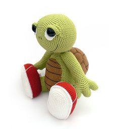 Otto the turtle from the book Zoomigurumi 2. At amigurumipatterns.net