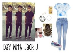 """""""Day with Jack Johnson"""" by famousstyles-dp ❤ liked on Polyvore featuring G-Star, Casetify, Vans, Feather & Stone and Charlotte Tilbury"""
