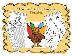How to Catch a Turkey craftivity - free!