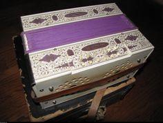 Speaker Purple Antique Accordion